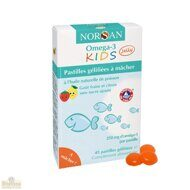 Жевательные капсулы Омега -3 KIDS Jelly 45 шт NORSAN